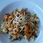 Gamberetti al curry con cuscus e verdurine... fantastico!