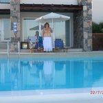 First villa- gorgeous pool!