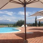 parte della vista dalla piscina