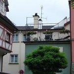 Terrazzo e facciata hotel