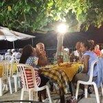 Wartende Gäste auf Abendessen