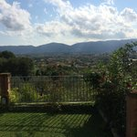 Uitzicht vanaf Ortensia.