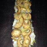 Chanterelle mushroom tartine