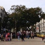 大晦日のカテドラル前広場
