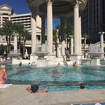 The pool was fabulous