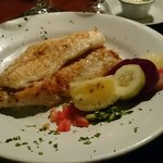 Parillada fish, tender, well cooked and delicious