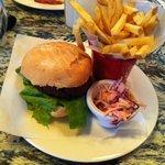 Falafel burger so tasty!!!