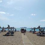 Spiaggia vicina all' hotel