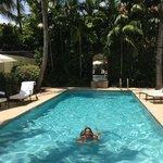 again swimming pool