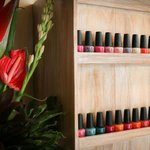OPI Nail Lacquers and Flowers