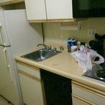 Küchenzeile - Kühlschrank allerdings sehr laut