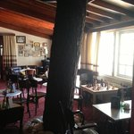 A tree growing inside the bar!