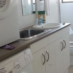 Toilet with washer & dryer