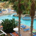"Blick vom "" Teide-Blick Doppelzimmer "" auf Pool"