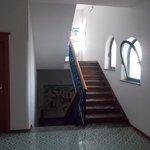 rampa di scale interna