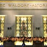 Park Avenue Entrance, The Waldorf=Astoria Hotel