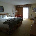 Zimmer mit Kingbett