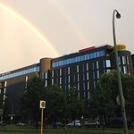 Superb Gay Hotel with its own rainbow!