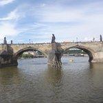 View of charles bridge