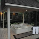 Check out our new & improved Hot Tub Area