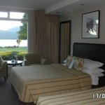 Room with view of Te Anau lake