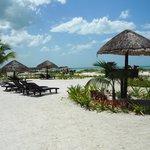 plage devant le resort