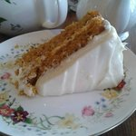 The huge carrot cake