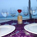 Romantic Meal on the Beach