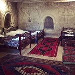 The room that we stayed in, it used to be prayer room