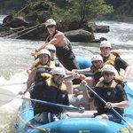 White-water rafting on the Ocoee River