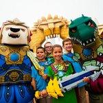 The amazing Legoland World of Chima!