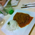 Lamb Curry e Palak Paneer