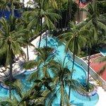 View of kids pool