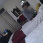 Unser erstes Zimmer.