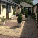 the outside of our annexed and garden area