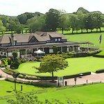 belle vue sur le golf