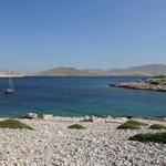 At anchor at island Mana