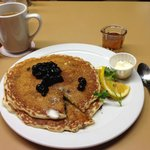 Blueberry Pancakes rocked it.