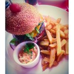 Bacon cheeseburger ��