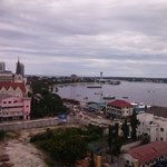 View of Dar Es Salaam Harbour from Harbour Suites