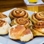Vanilla breakfast buns