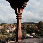 Vue de la terrasse QUARTZ ROSE