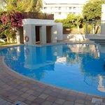 piscine au pied des bungalows