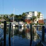 Blick auf die Marina
