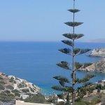 Agia Pelagia, crique  à 6km