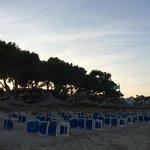 Spiaggia non riservata ai clienti e a pagamento