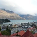 VIEW FROM UNIT 5A (most units share this view over Lake Wakatipu