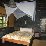 Bedroom in Harvest Bungalow