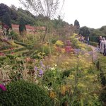 The gardens before the maze
