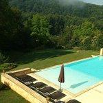 La piscine vue de la chambre n°1